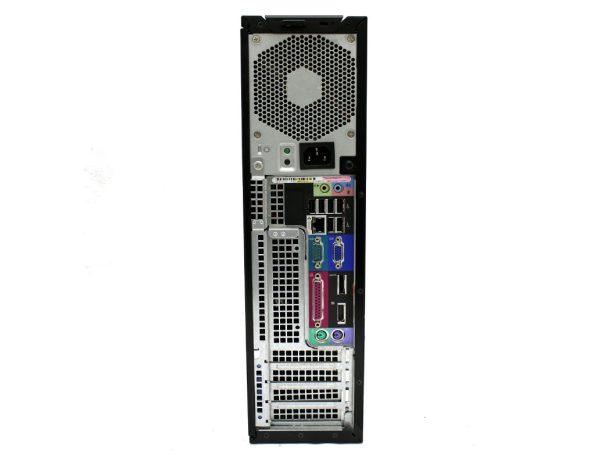 مینی کیس استوک Dell 980_back