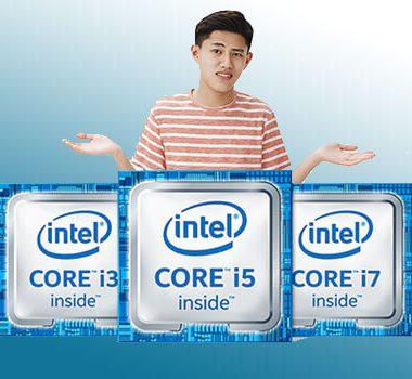 تفاوت پردازنده core i3 و core i5 و core i7